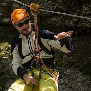 Adventure park Srnica Bovec Slovenia