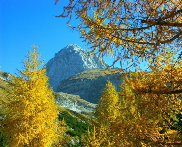 Hiking Mangart Bovec Slovenia