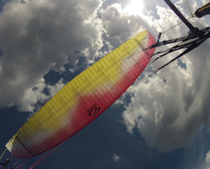 tandem paragliding Bovec Soca valley Slovenia