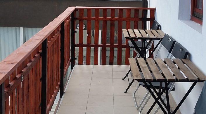 Balcony @ Hostel Thirsty River