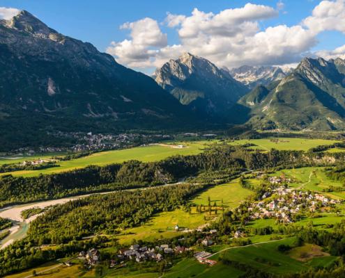 Bovec, Soča valley, Slovenia